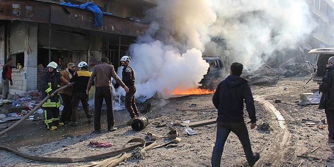 Pazar yerine hava saldırısı: 28 ölü