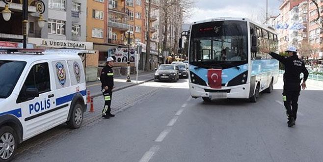 Halk otobüsü şoförü alkollü çıktı