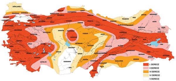 Türkiye'nin yeni deprem haritası! 22 yıl sonra değişti...