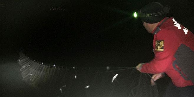 İznik Gölü'nde kaçak av nöbeti