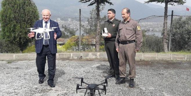 Gemlik'in huzurunu droneler sağlayacak