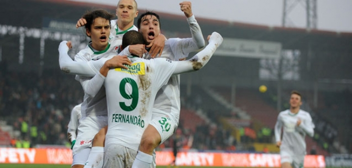 Bursaspor ligin en çok gol atan takımı