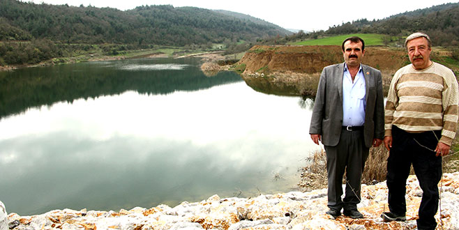 Fethiye göletinden sulama başlıyor