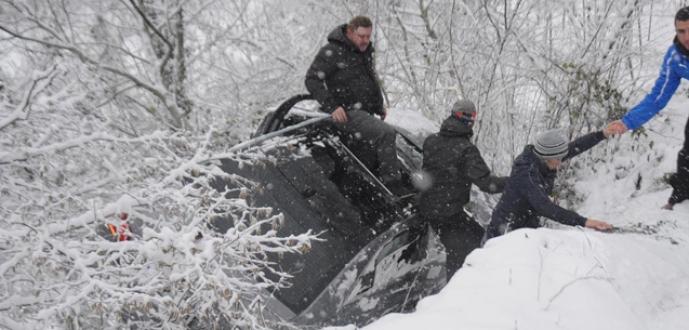 Uludağ'da kar kalınlığı 60 santime ulaştı