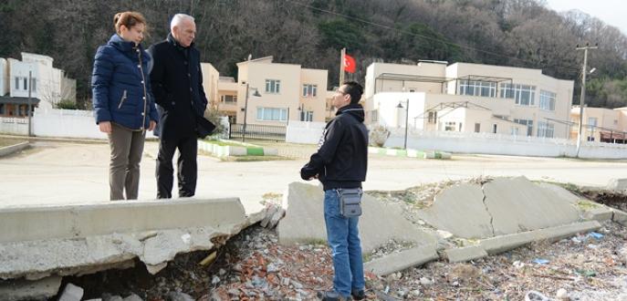 Sahilde erozyona neşter vurulacak