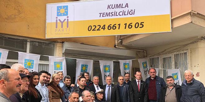 İYİ Parti Kumla'da temsilcilik açtı