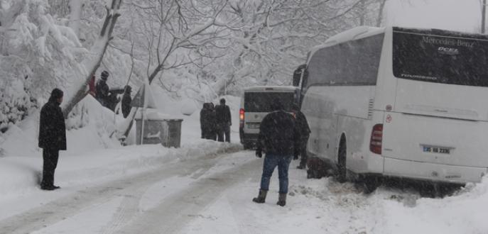 236 köy yolu kapalı