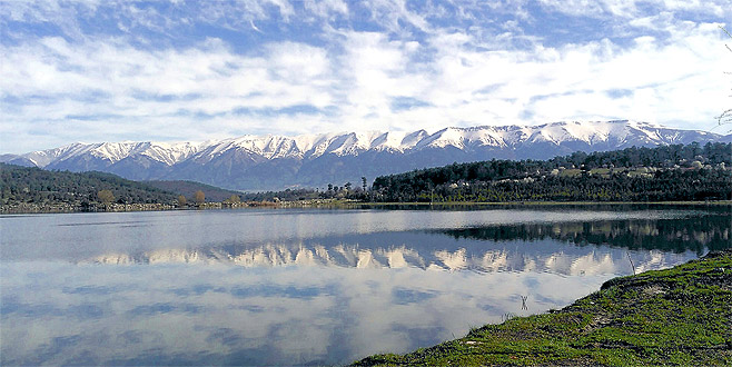 Uludağ'ın arka yüzündeki bu göl büyülüyor