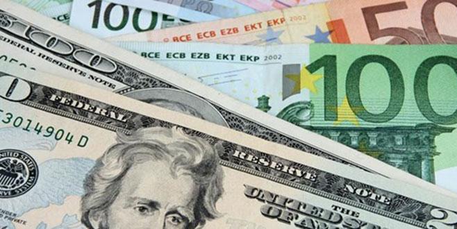 Dolar ve Euro'da son rakamlar...