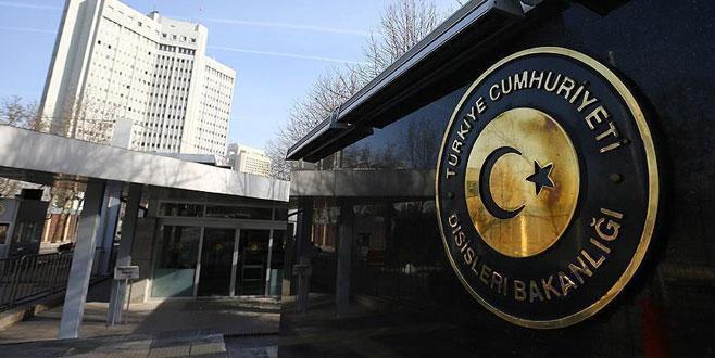 Dışişleri Bakanlığı'ndan AB Komisyonu Başkanı Juncker'e tepki