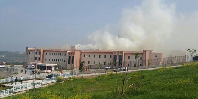 Bursa'da hastanede korkutan yangın!