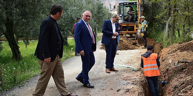 Fatih Mahallesi'nde doğalgaz sevinci