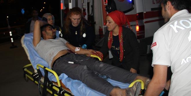 Kayınbiraderlerinden birini öldürdü ikisini de ağır yaraladı