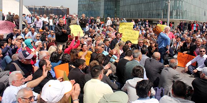 Bursa'da oturma eylemi