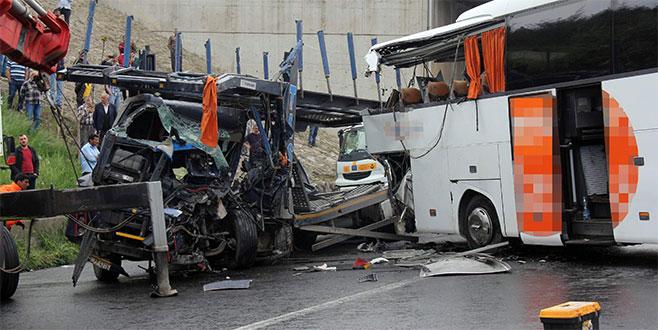 Bursa'da acı bilanço: 3 ayda 21 kişi hayatını kaybetti