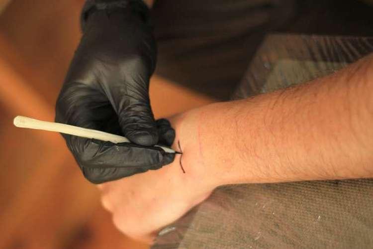 Tarihin en eski dövme seti bulundu!