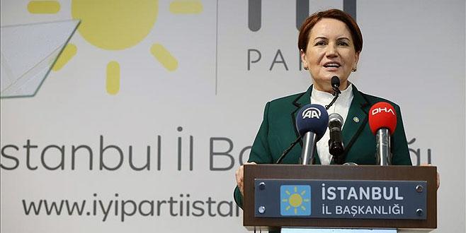 Akşener: CHP'nin adayı ikinci tura kalırsa...