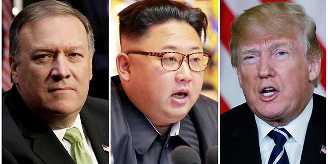Kuzey Kore lideri Pompeo ile görüştü