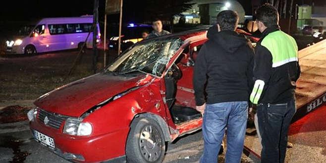 Taziye ziyareti dönüşü kaza: 3 ölü, 9 yaralı