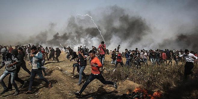 Gazze'de 'Büyük Dönüş Yürüyüşü'nde dördüncü cuma: 4 kişi öldü
