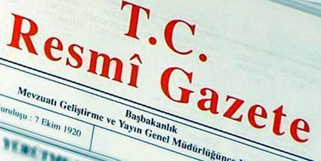 Seçim kararı Resmi Gazete'de