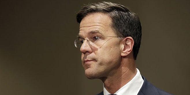 Hollanda Başbakanı'ndan skandal Türkiye açıklaması