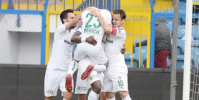 Bursaspor moral buldu: 4-1