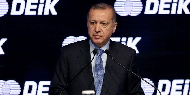 Erdoğan: Her kim para kaçırmaya tevessül ederse affetmeyiz