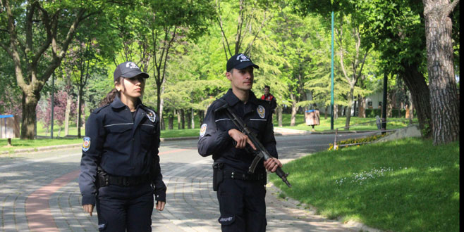 Parklara huzur operasyonu