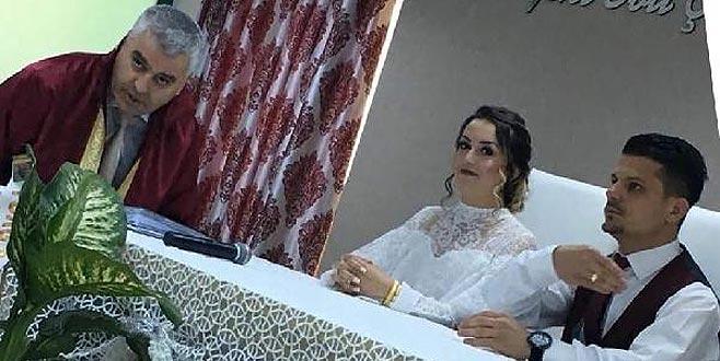 Yaptığı şaka nedeniyle nikahı kıyılamayan gelin ve nikah memuru konuştu!