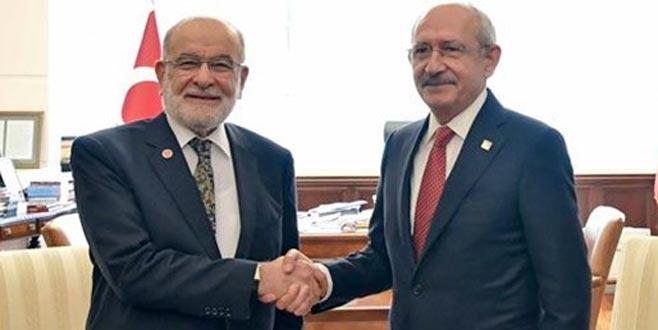 Kılıçdaroğlu, Karamollaoğlu ile görüşüyor