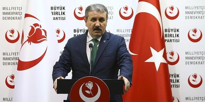 BBP'de yetki Genel Başkan Mustafa Destici'de