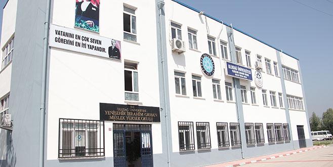 Meslek Yüksekokulu'na ek bina yapılacak