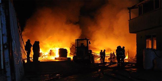 Barda yangın: 18 ölü, 5 yaralı