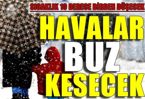 'Çok soğuk hava' Marmara ve Ege'yi donduracak