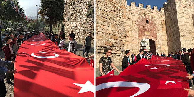 Bursa'da 57. Alaya vefa yürüyüşü