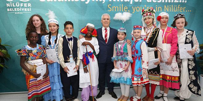 Dünyanın çocukları Nilüfer'de buluştu