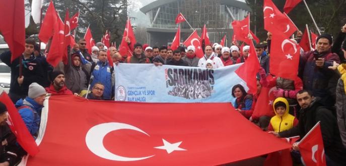 Sarıkamış şehitleri, Bursa'da anıldı