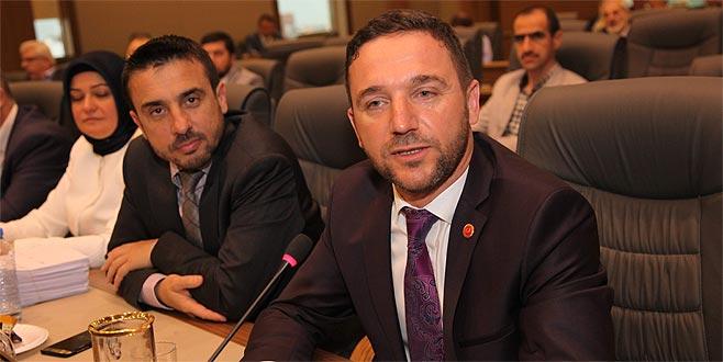 Büyükşehir Belediye Meclisi'nde istifa