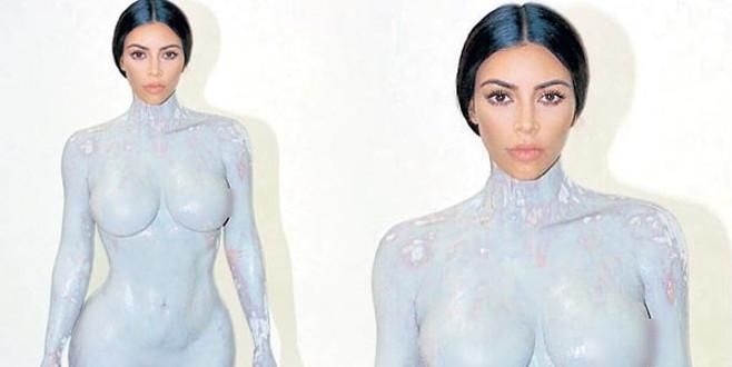 Kim Kardashian bunu da yaptı!