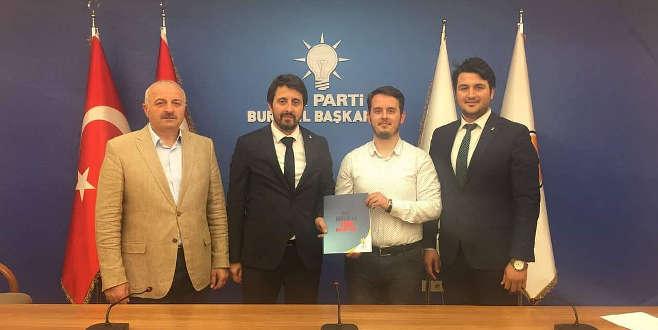 Bursa'nın en genç vekil adayı