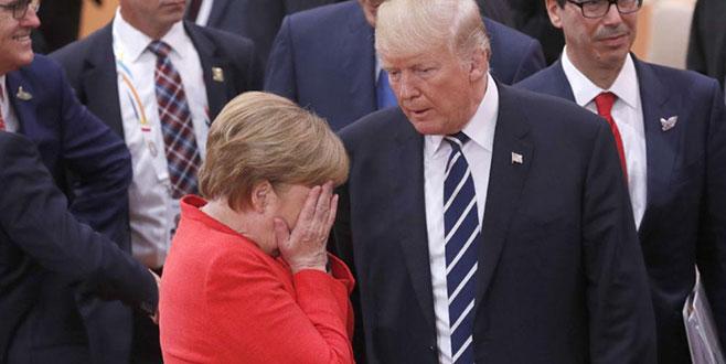 Gözler Trump-Merkel görüşmesinde