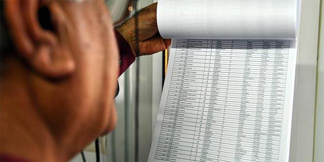 Resmi Gazete'de yayımlandı: Seçmen listeleri 2 Mayıs'ta askıda