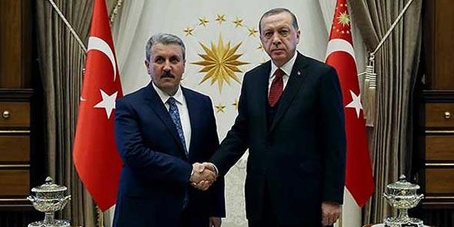 Erdoğan, Destici ile görüşecek: Gündem seçim ittifakı