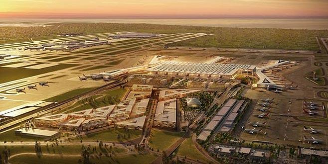 Yeni havalimanı ile ilgili flaş gelişme: Tüm dünyaya duyuruldu