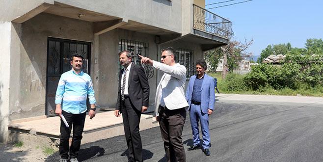 'Yenidoğan'da asfaltsız sokak kalmayacak'