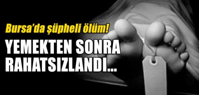 Bursa'da genç kadının şüpheli ölümü!