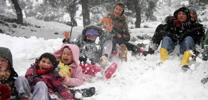 Kar tatili furyası başladı!