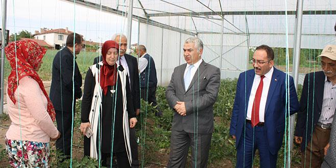 Kadın çiftçiye destek