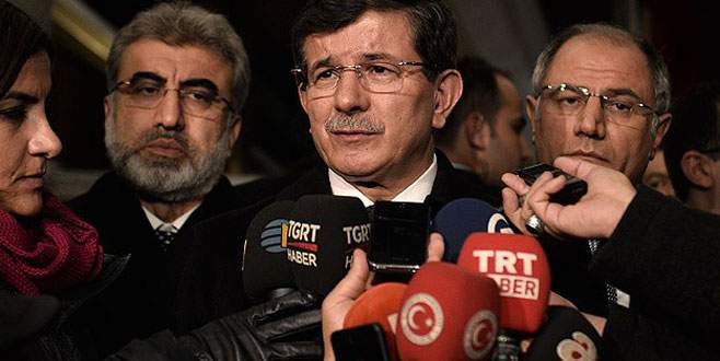 Davutoğlu'ndan canlı bomba açıklaması